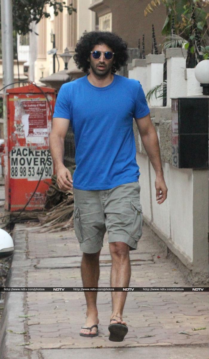 Aditya Roy Kapur, That\'s A Cool Hairdo