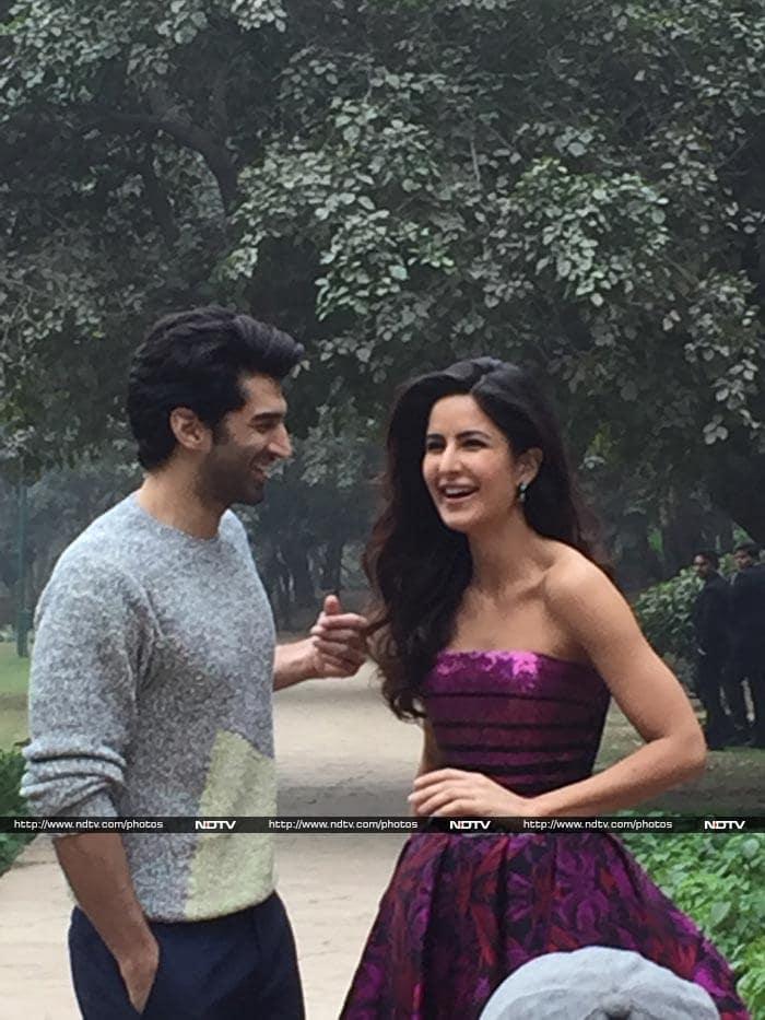 A Walk in the Garden: Katrina, Aditya\'s Delhi Fitoor