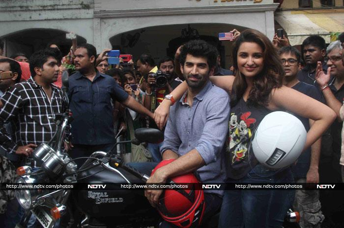 On The Road With Parineeti and Aditya