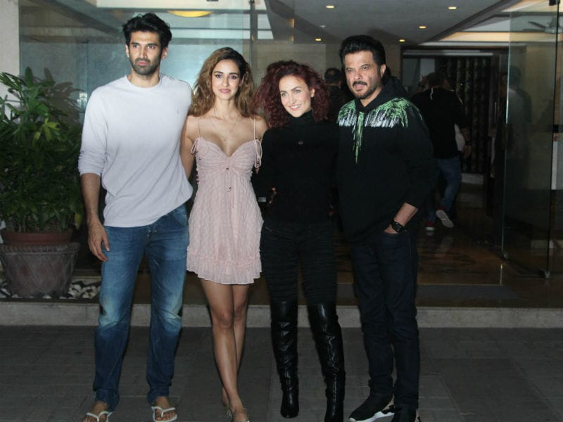Aditya Roy Kapur Parties With Disha Patani, Anil Kapoor And Elli Avram