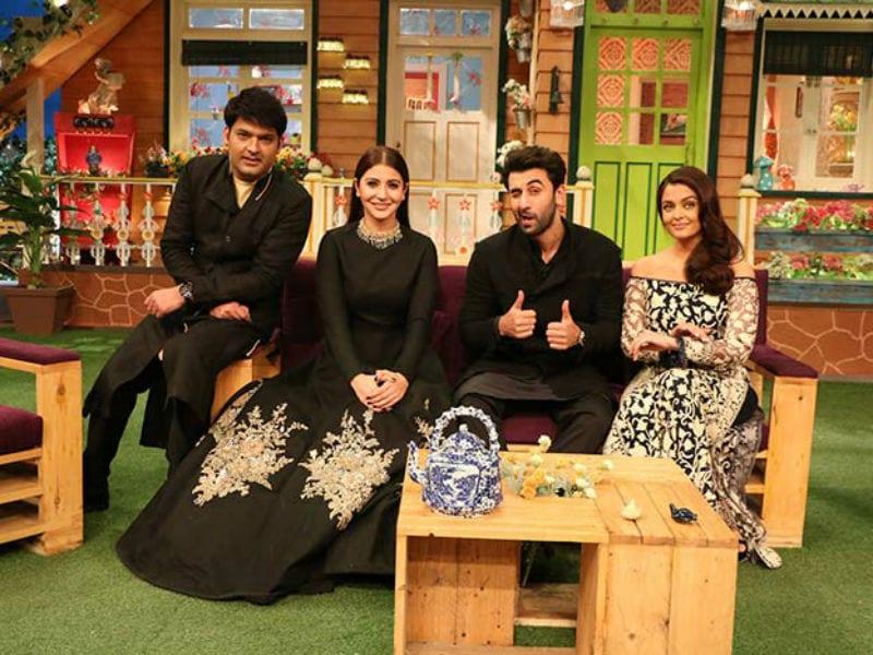 Photo : Aishwarya, Ranbir and Anushka Win Everyone's Dil At  The Kapil Sharma Show