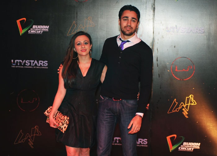 Stars at F1 after party for Lady Gaga