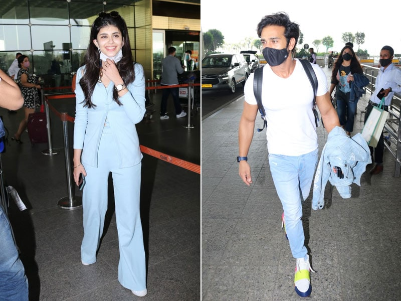 Star-Studded Airport With Pulkit Samrat, Sanjana Sanghi, Rashi Khanna And Akshay Oberoi