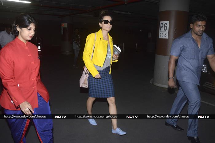 No Travel Fatigue For Frequent Flyers Kangana, Imran