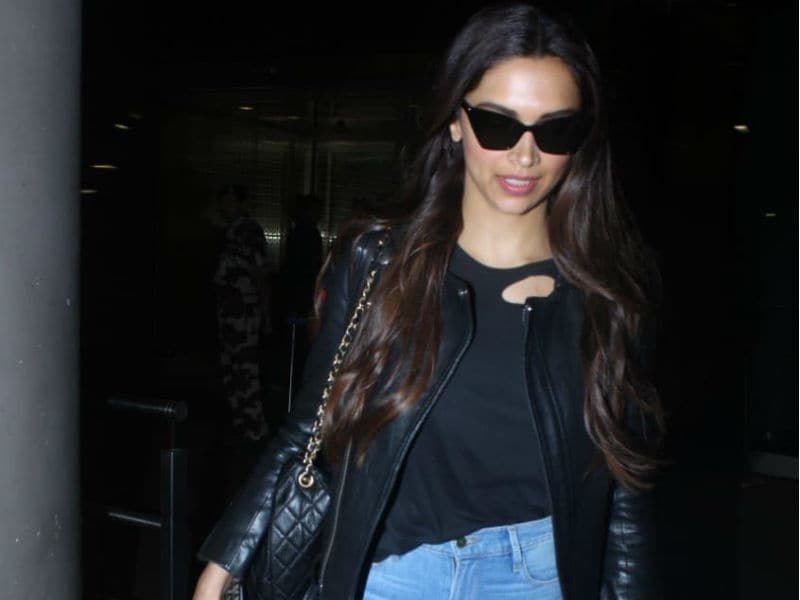 Deepika's Smart And Chic Airport Fashion Is On Point