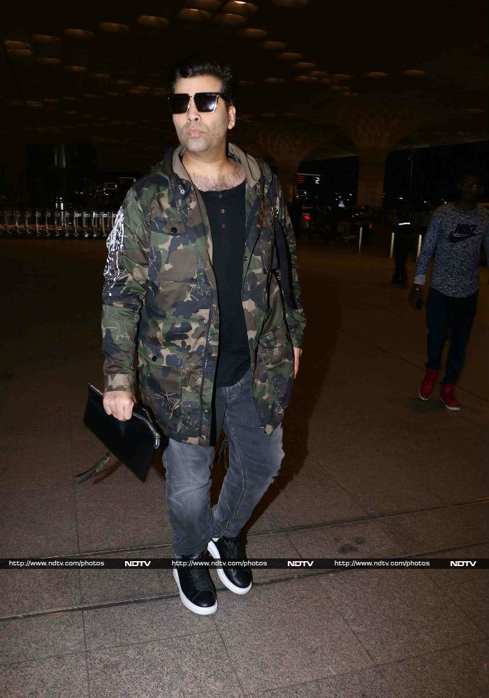 मुंबई एयरपोर्ट पर बॉलीवुड सितारों की चमक...