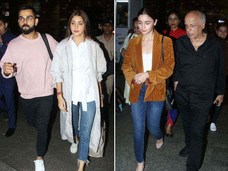 Mumbai Calling For Anushka Sharma-Virat Kohli And Alia Bhatt