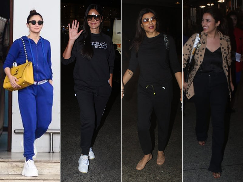 Crowded Airport: Alia, Katrina, Sushmita, Parineeti. Count The Stars