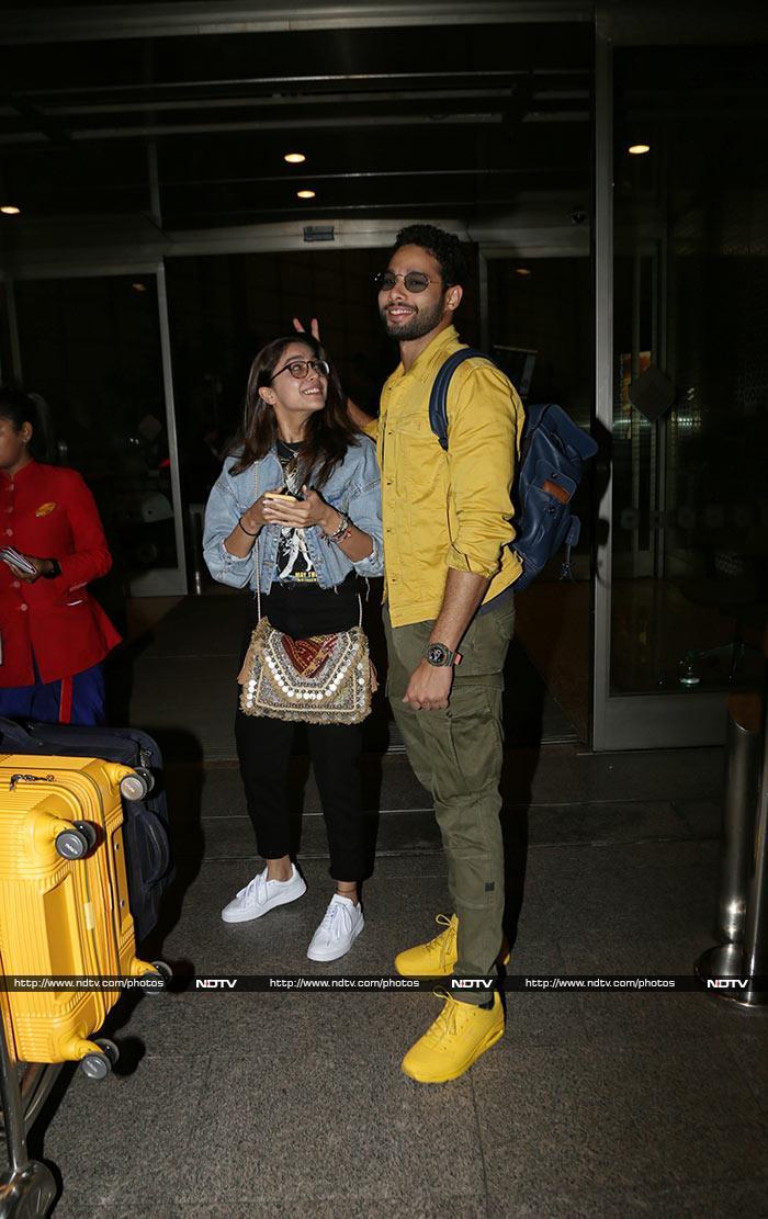 एयरपोर्ट पर कुछ इस अंदाज़ में दिखे सैफ अली खान और तापसी पन्नू