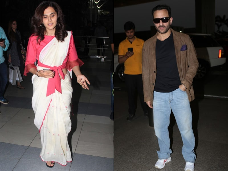 Saif Ali Khan And Taapsee Pannu's Time To Travel