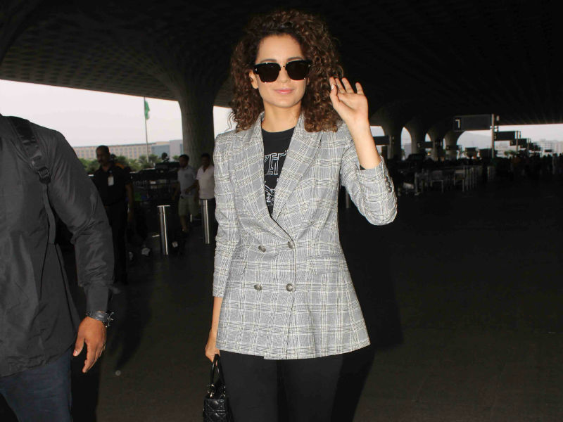 Kangana Ranaut Looked Like A Diva At The Airport