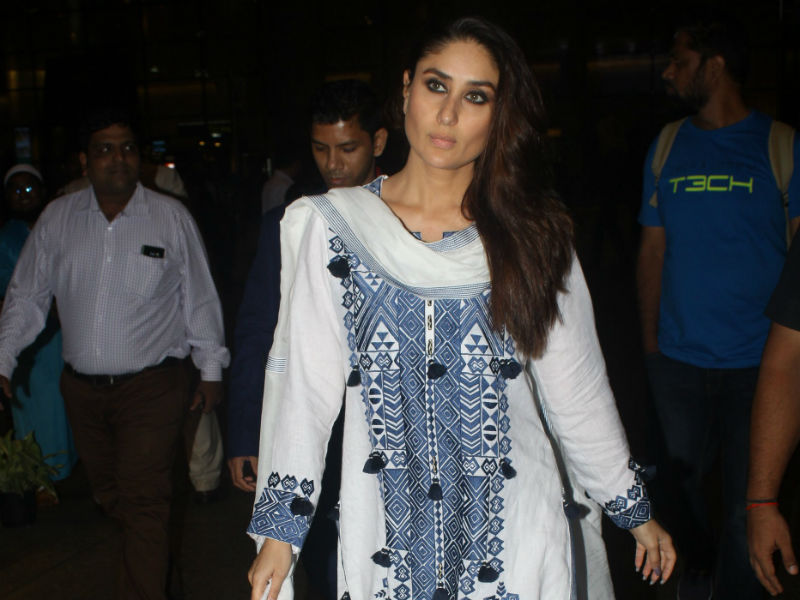 Kareena Kapoor Touch Down In Mumbai Just In Time For Her Birthday
