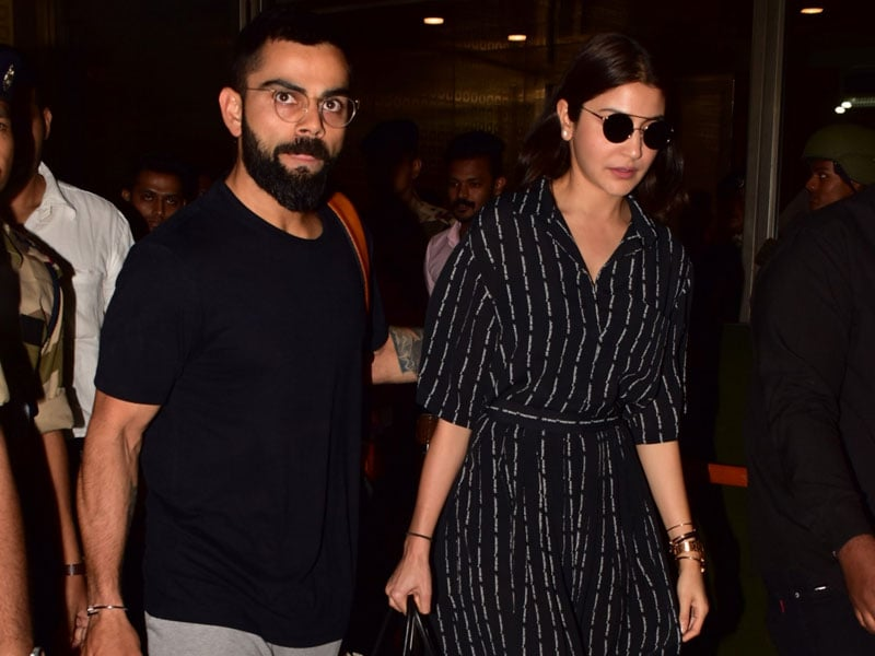 Virat Kohli And Anushka Sharma Return After World Cup Tour