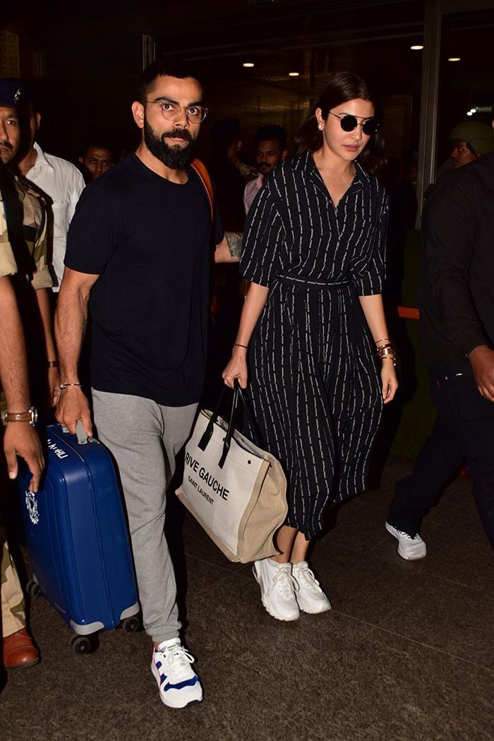 Virat Kohli And Anushka Sharma Return After World Cup Tour