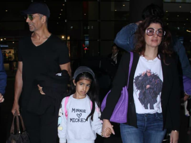 Akshay, Twinkle, Kareena Wrap Up Holiday Diaries For Mumbai Return