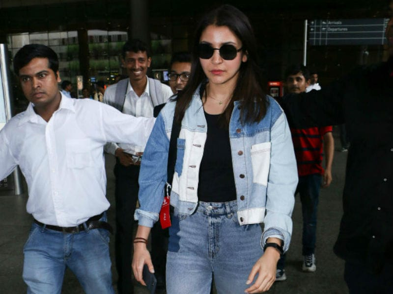 Anushka Sharma Redefines Airport Fashion