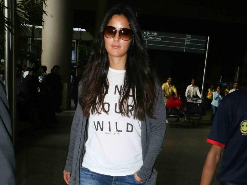 Katrina Kaif Sports A Comfy Look At The Airport