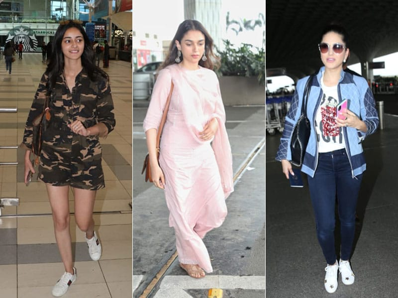 Star-Struck Airport: Ananya, Sunny, Aditi And Others