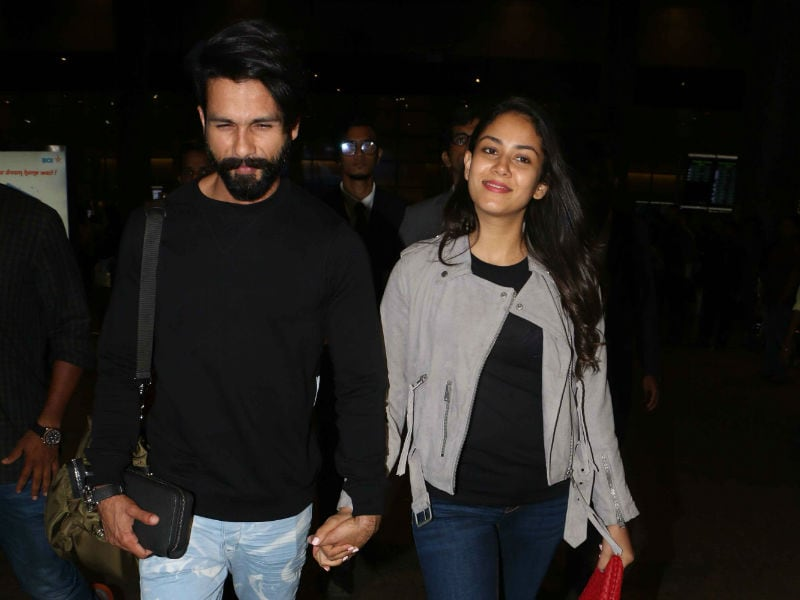 Shahid Kapoor And Mira Travel In Style, Always