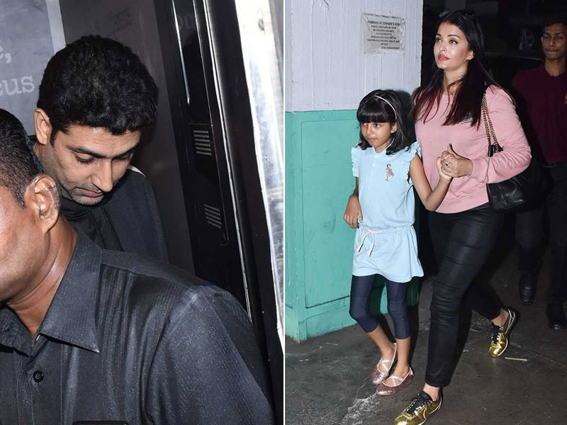 Inside Aishwarya, Aaradhya And Abhishek's Fun-Filled Sunday