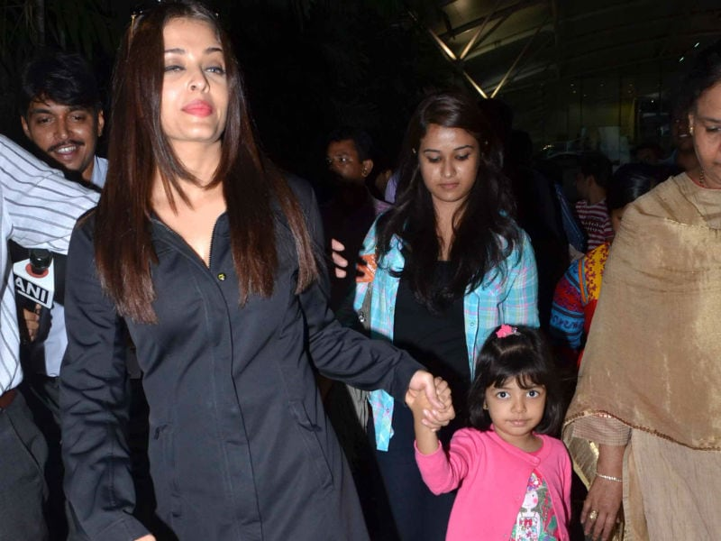 Aishwarya, Aaradhya and The Frequent Flyers Club