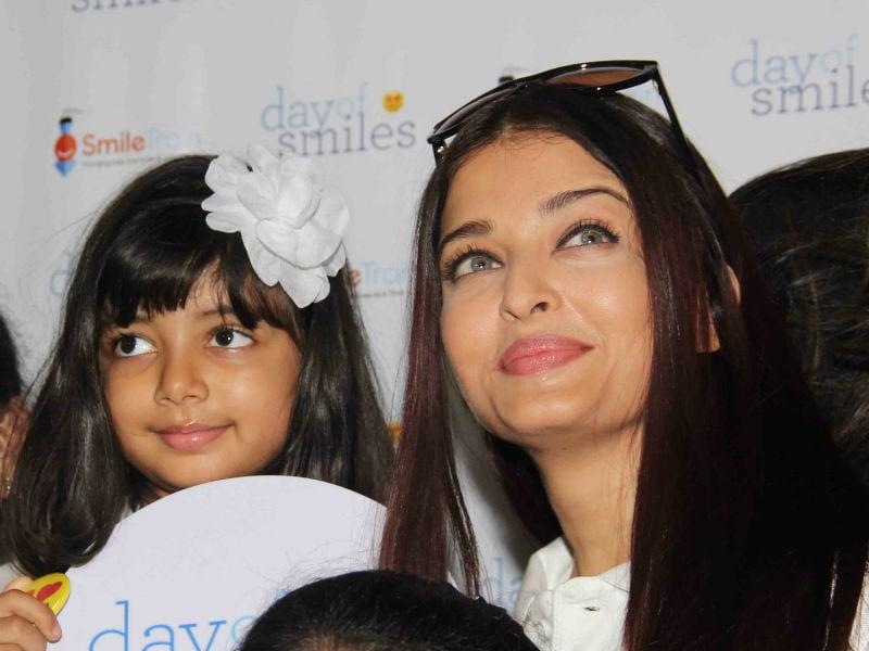 Photo : बेटी के साथ ऐश्वर्या राय बच्चन ने मनाया पिता का B'day