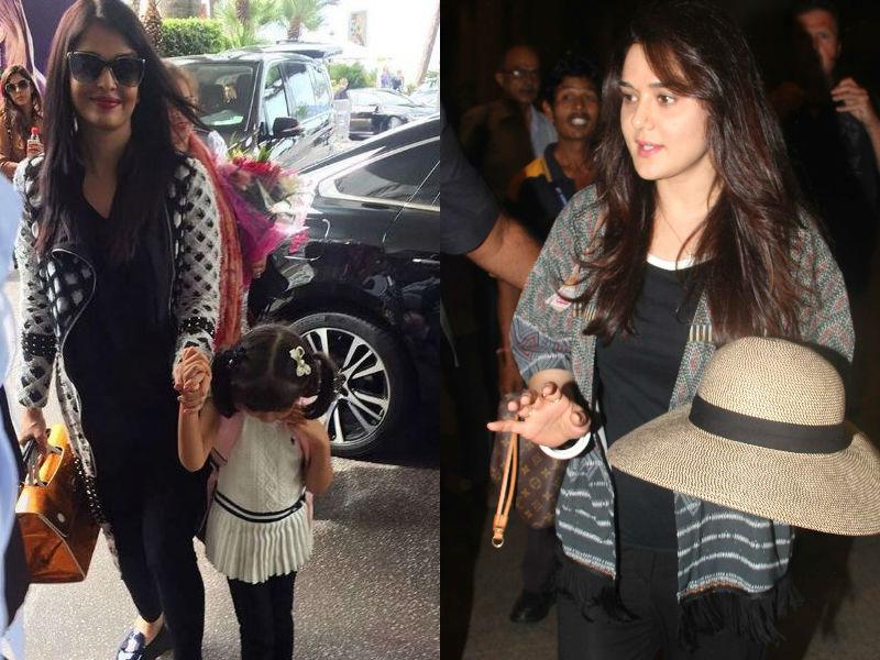 Photo : बेटी आराध्या संग कांस पहुंचीं ऐश्वर्या, उधर मुंबई एयरपोर्ट पर नजर आईं प्रीति जिंटा