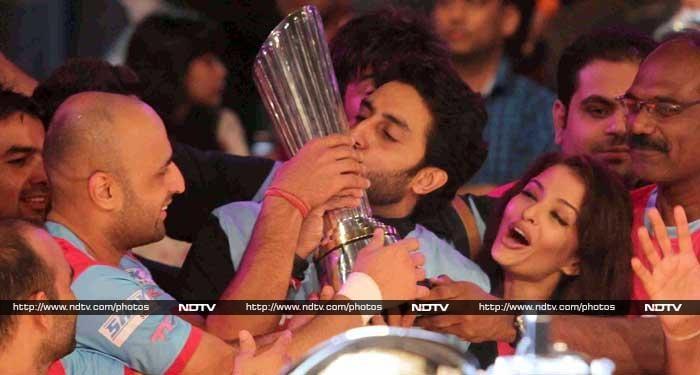 Of the Sporting Leagues: Aishwarya, Abhishek, Ranbir