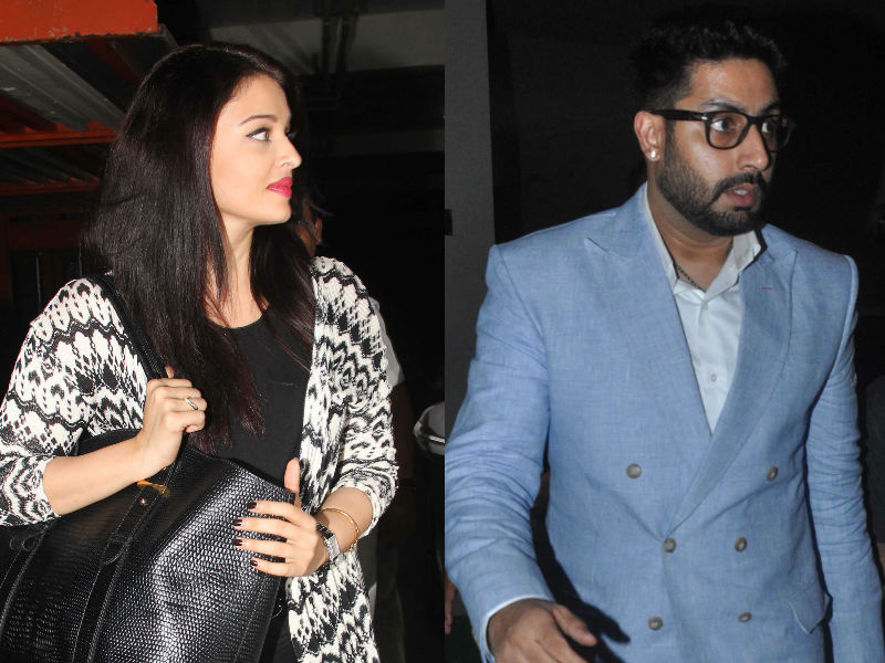 Aishwarya, Abhishek Attend Housefull 3 Screening