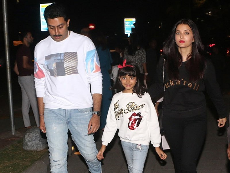 Aishwarya's Weekendnama With Aaradhya And Abhishek
