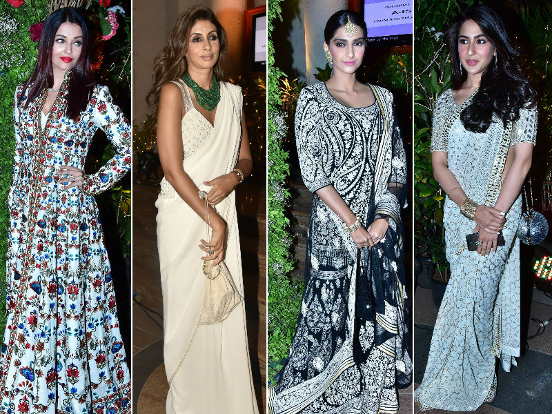 Aishwarya, Shweta, Sonam And Sara Are On A Fashion High