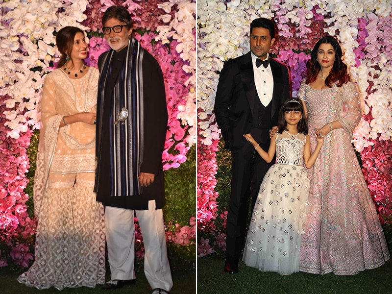 The Bachchans, Sonali Bendre, Kajol, Karisma And Rekha Lead A-List At Akash Ambani-Shloka Mehta's Reception