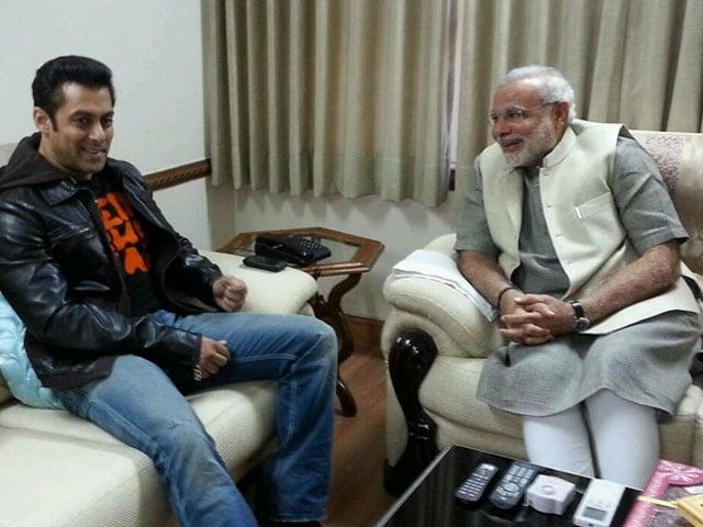 Salman Khan's Uttarayan with NaMo