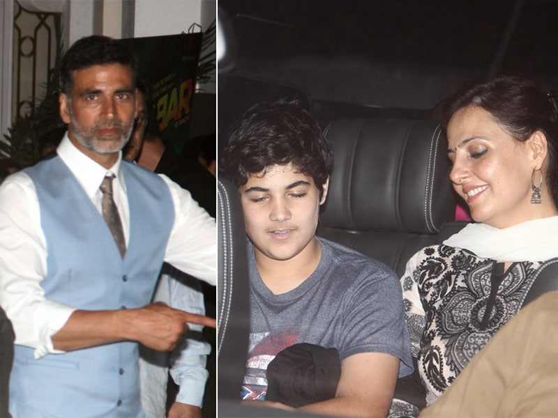 Gabbar's Day Out With Son Aarav and Sister Alka