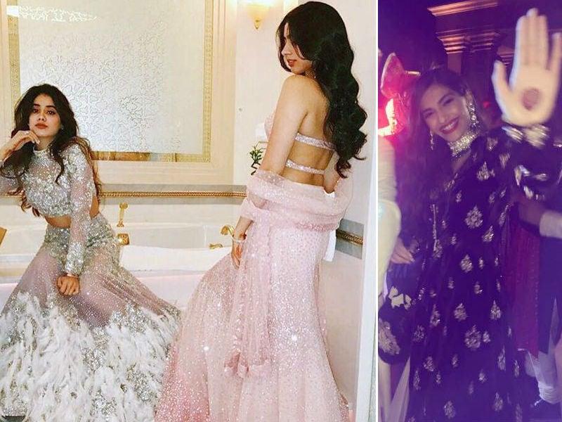 Photo : अपने कजिन की शादी में कुछ ऐसे नजर आई सोनम, जाह्नवी और खुशी