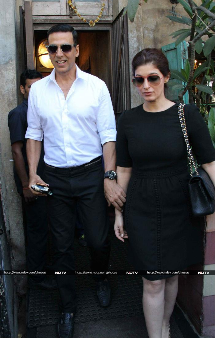 Akshay Has More Than \'100 Crore\' Reasons To Take Twinkle Out For A Lunch Date