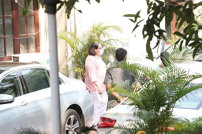 Ranbir, Alia Bhatt, Arjun Spotted At Kapoor House In Chembur