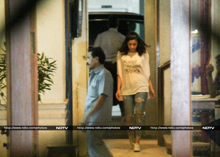 Alia Bhatt Visited A Gentleman