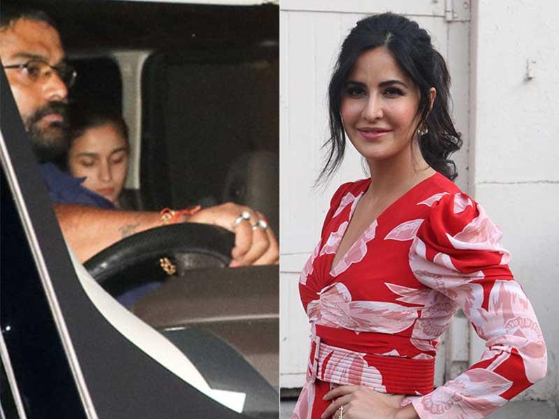 Inside Alia Bhatt And Katrina Kaif's Busy Wednesday