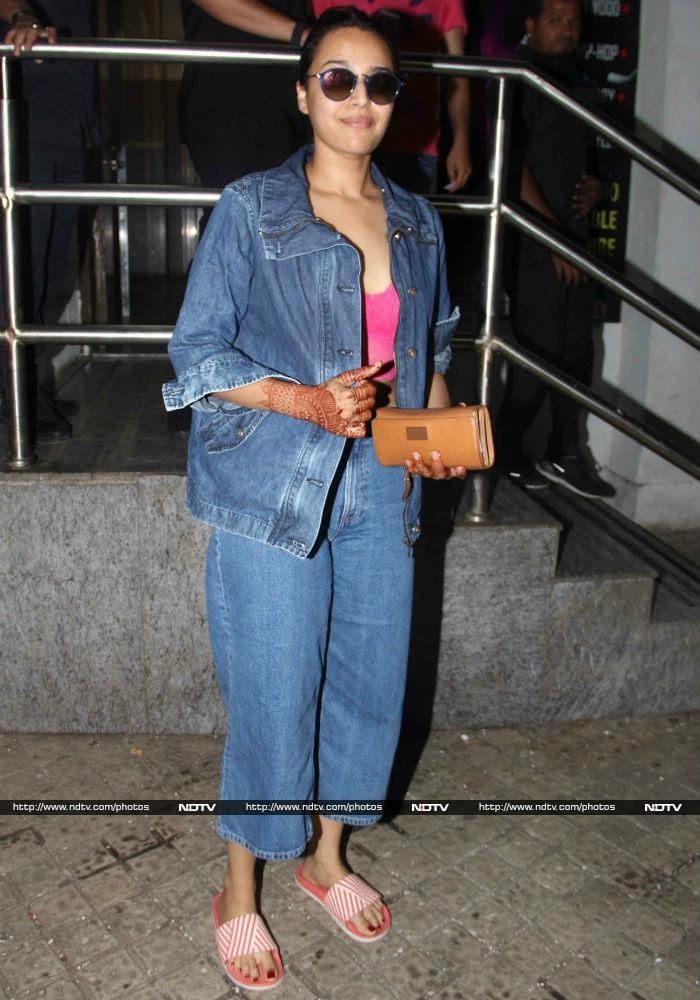 आलिया के साथ मिस वर्ल्ड मानुषी ने देखी 'राजी'