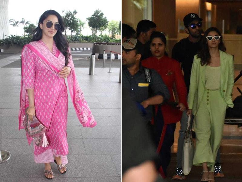 Alia, Ranbir And Kiara: Happy Faces At A Busy Airport
