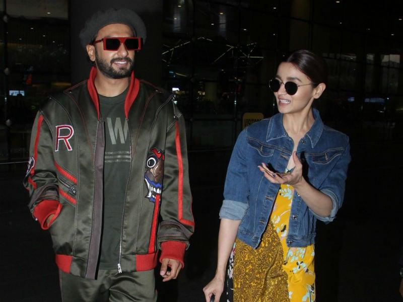 Alia And Ranveer, Welcome To Mumbai Ki Gully