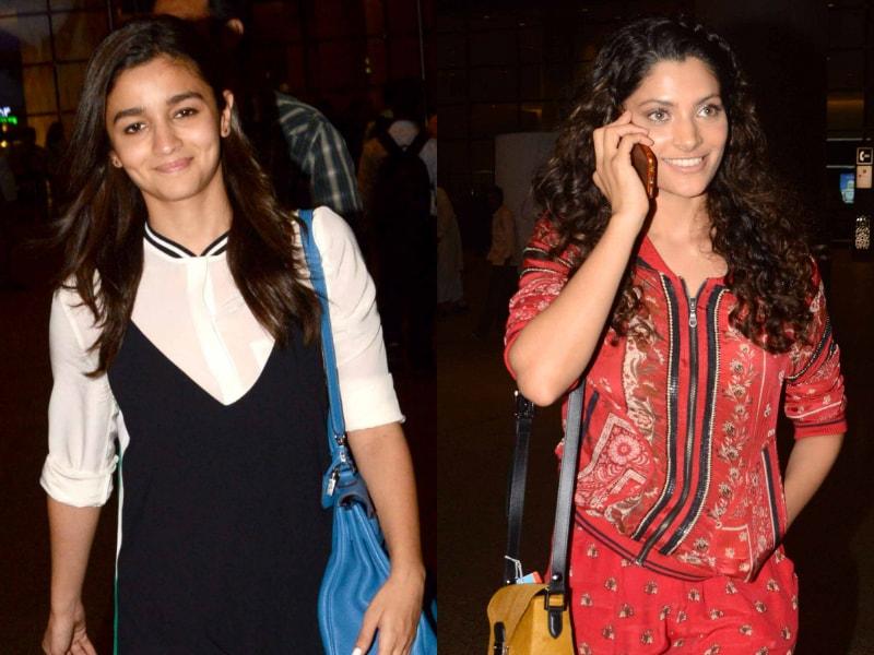 Photo : Alia Bhatt, Saiyami Kher Lead The Udta Squad In Style