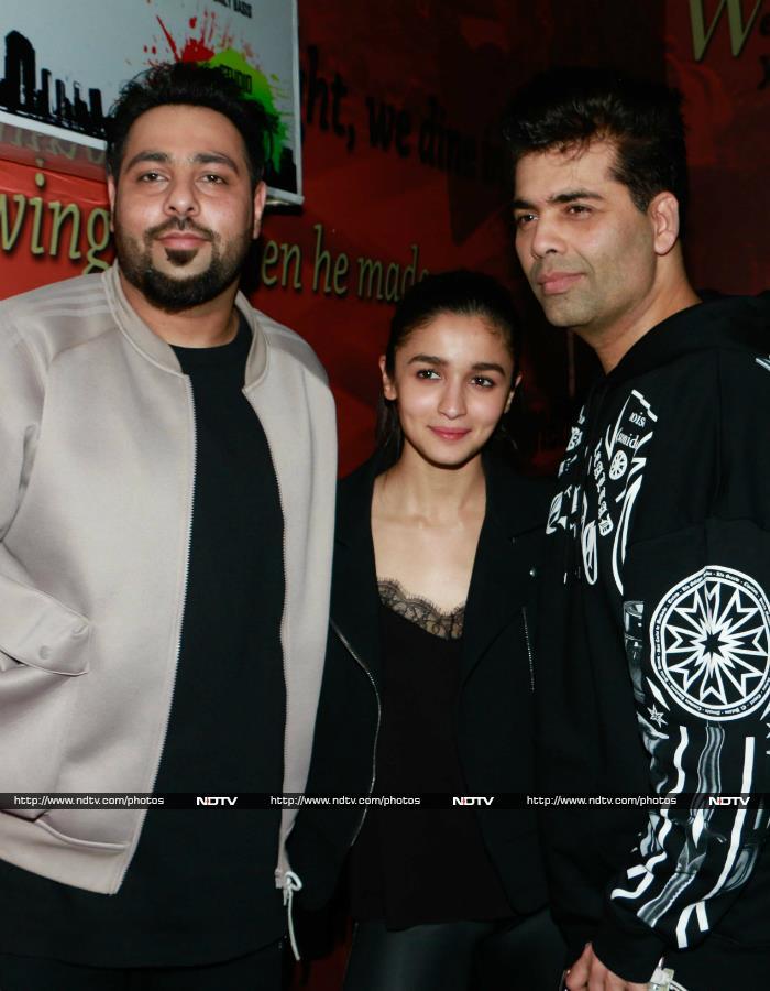 Varun, Alia, Natasha Watch Badrinath Ki Dulhania Together