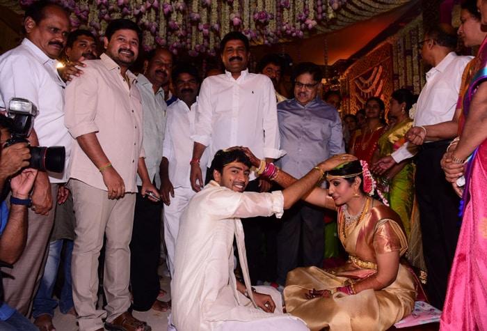 Political Bigwigs and Southern Stars at Allari Naresh\'s Wedding