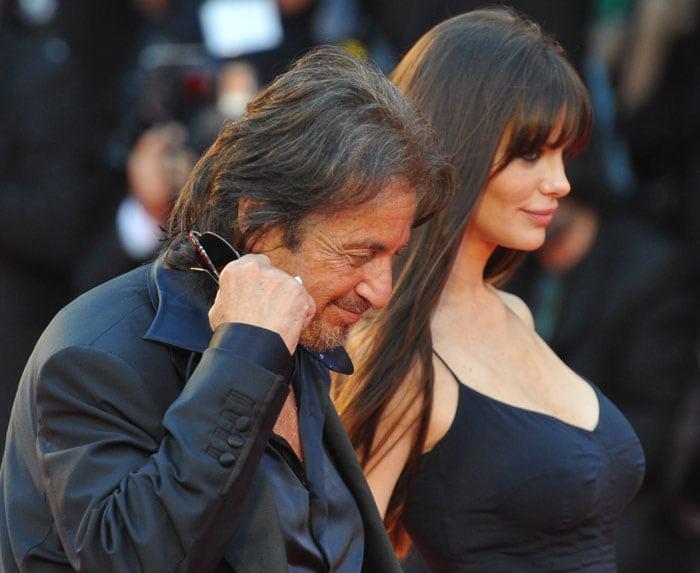 Al Pacino honoured at Venice film festival