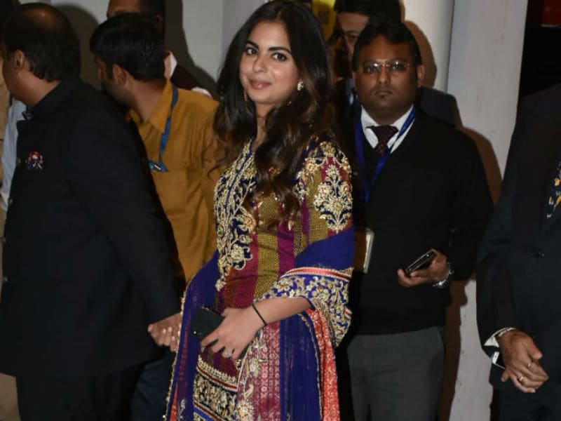 The Ambanis And Other Guests Join Priyanka And Nick In Jodhpur