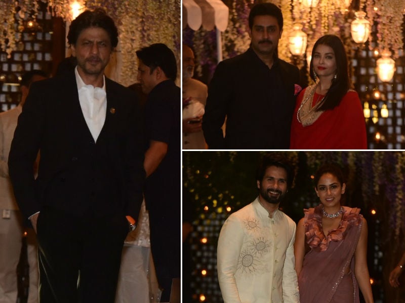 Glitter, Glamour And The Ambani Party With Aishwarya-Abhishek, Shah Rukh, Shahid-Mira