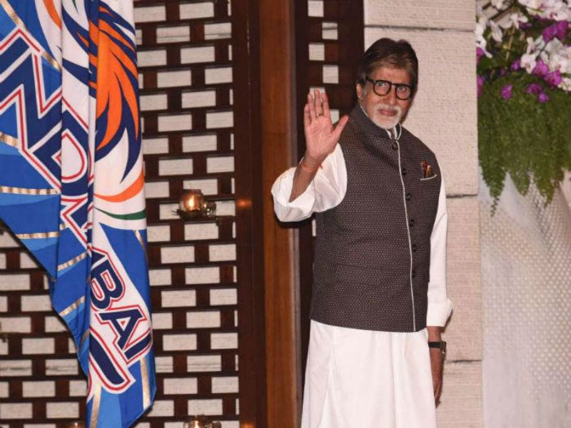 Big B, Sachin Headline Ambani Party For Mumbai Indians