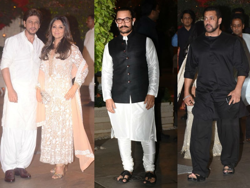 SRK, Aamir, Salman To The Bachchans: Celeb Avalanche At Ambani Ganesh Chaturthi Celebration
